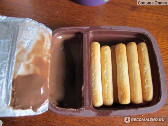 Шоколадно-ореховая паста Spleet десертная с хлебными палочками фото
