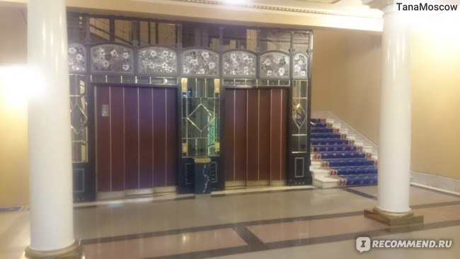 Лифт отеля Метрополь