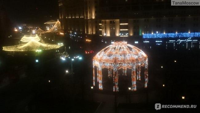 Ночной вид из Стандарт Твин в Метрополе