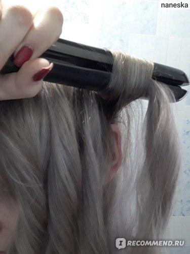 Утюжок для волос Rowenta Glam Liss 2-в-1 SF1062 фото