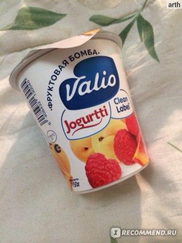 Йогурт Valio Фруктовая бомба Clean Label фото