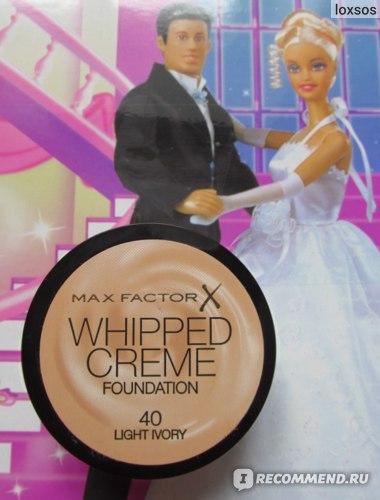 Тональный крем Max Factor Whipped cream foundation фото