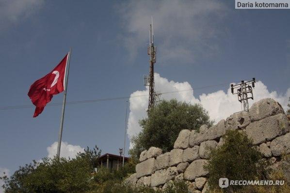 флаг на горе