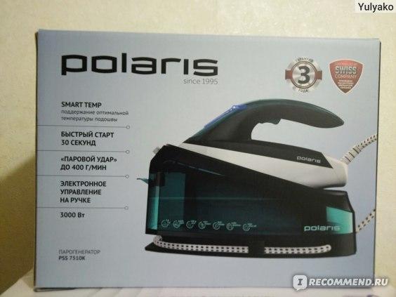 Парогенератор Polaris pss7510k фото