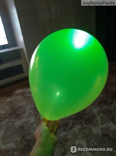 Светящиеся в темноте воздушные шары Fix Price ,Party, 3 шт, в ассортименте фото