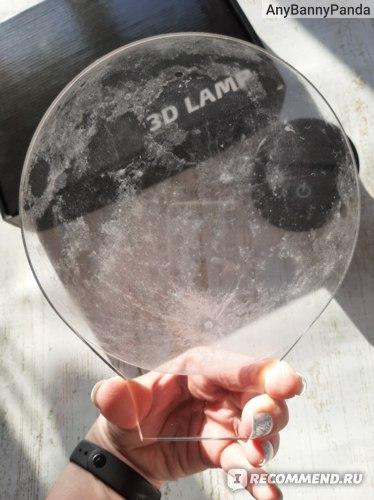 "Ночник Art-Lamps 3Д светильник ""Луна"" фото"