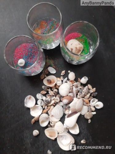 Набор для творчества Santa Lucia Свечи Морское дно фото