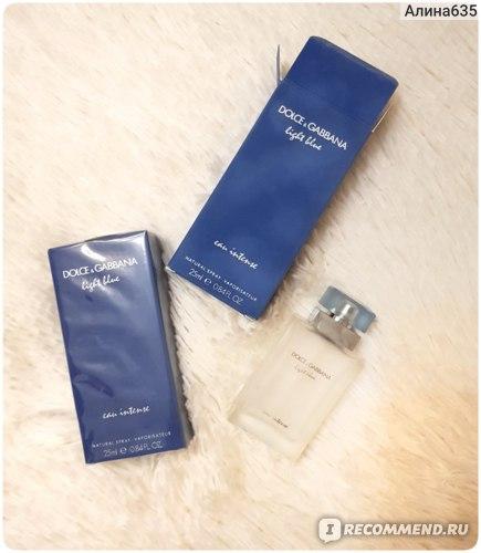 Dolce & Gabbana Light blue intense  фото