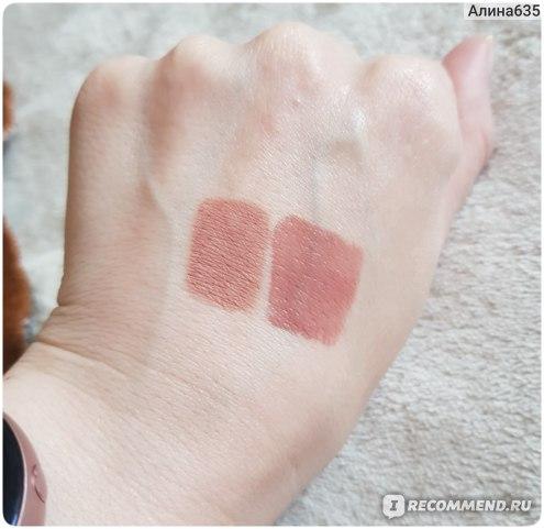 Кашемировая жидкая помада для губ LUXVISAGE Glam look Lip cream velvet фото