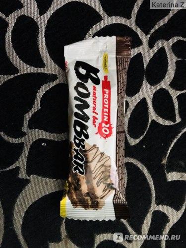 Протеиновый батончик Bombbar Датский бисквит фото