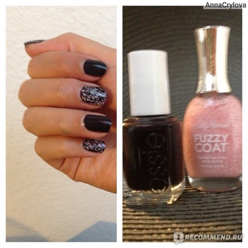 Лак для ногтей Sally Hansen FUZZY Coat фото