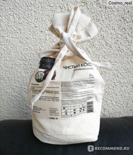 Стиральный порошок Ми&Ко Чистый кокос  фото