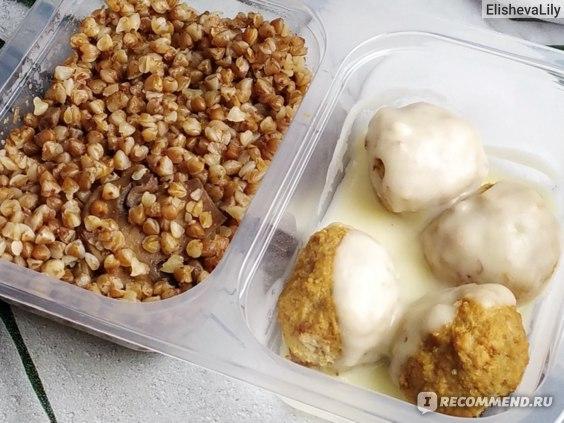 FoodBasket - сервис по доставке правильного питания