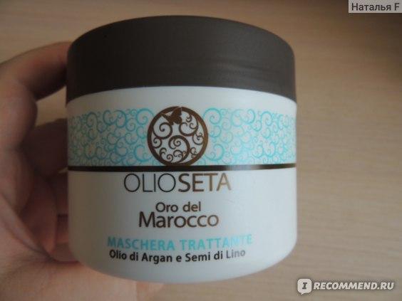 Маска для волос BAREX  Olioseta Oro del Marocco фото