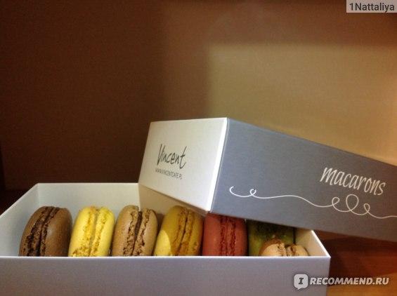 Пирожное Vincent macaron  фото