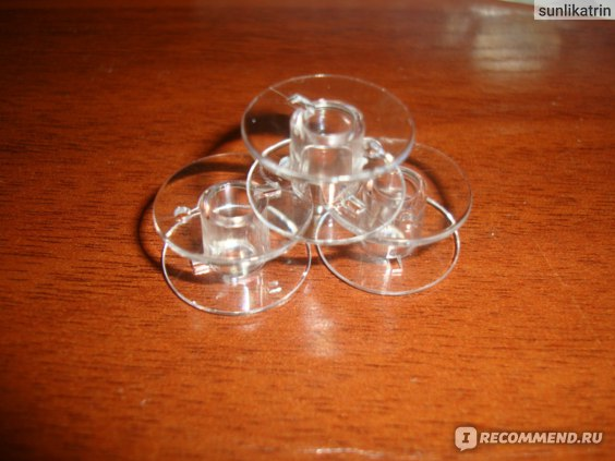Шпульки для швейной машинки Aliexpress 25 Bobbins in Bobbin Box фото