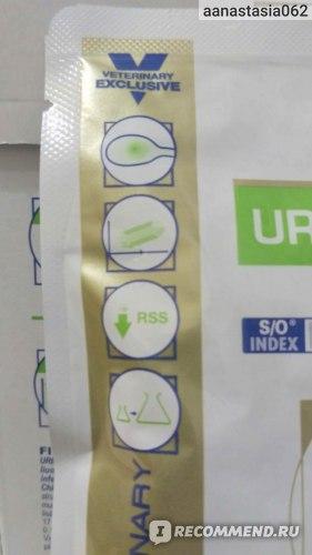 Консервированный корм Royal Canin Urinary S/O кусочки в соусе фото