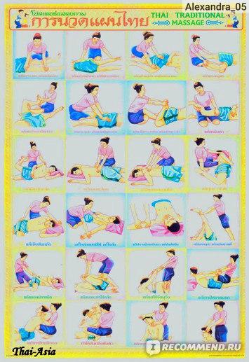 Методики тайского массажа