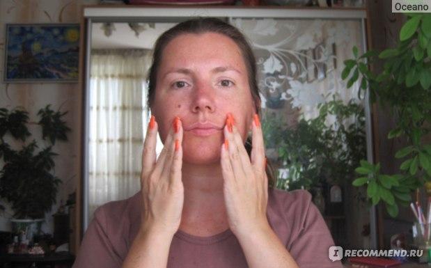 Лимфодренажный массаж лица Zogan (асахи), упражнения