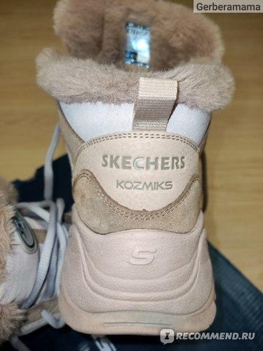 Кроссовки SKECHERS женские высокие утепленные  Kozmiks 1.0 Echoes фото