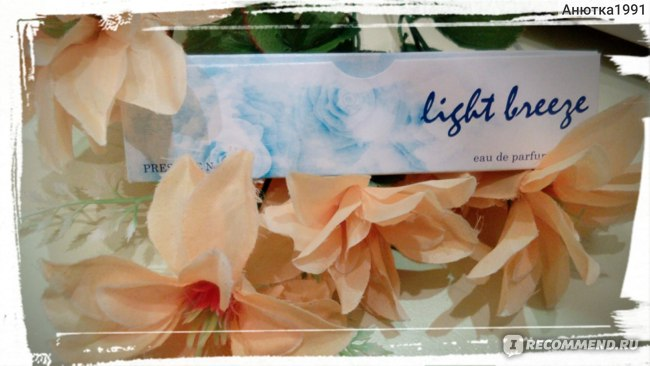 Парфюмерная вода для женщин Light breeze Prestige N 4   фото