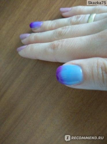 Термо гель-лак для ногтей Elite99 Chameleon фото