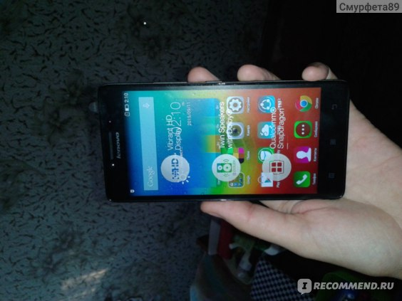 Мобильный телефон Lenovo 6000 A фото