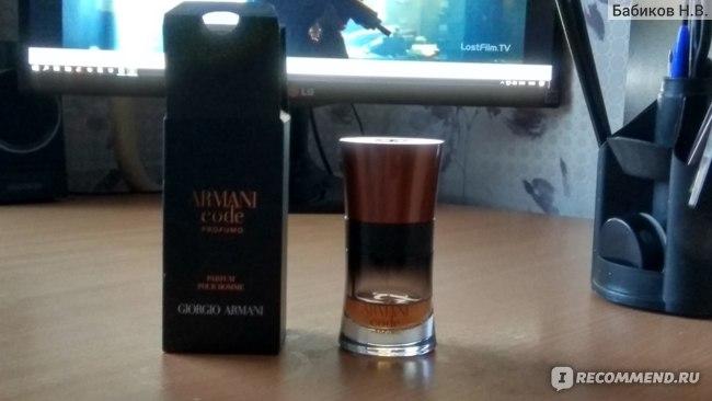 Giorgio Armani Armani Code Profumo фото