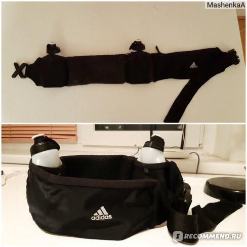 Поясная сумка для бега Adidas Run 2 bottle b фото