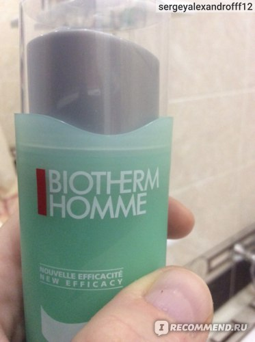 Гель для глубокого увлажнения лица Biotherm Homme Aquapower фото