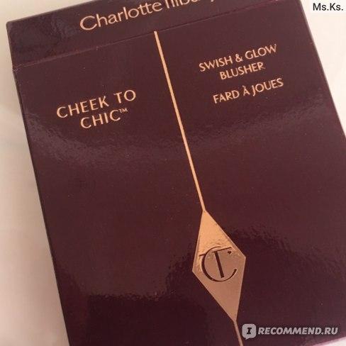 Румяна компактные Charlotte Tilbury Cheek to Chic фото