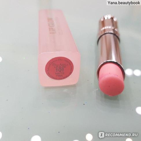 Бальзам для губ Dior подчеркивающий их естественный цвет Addict Lip Glow фото