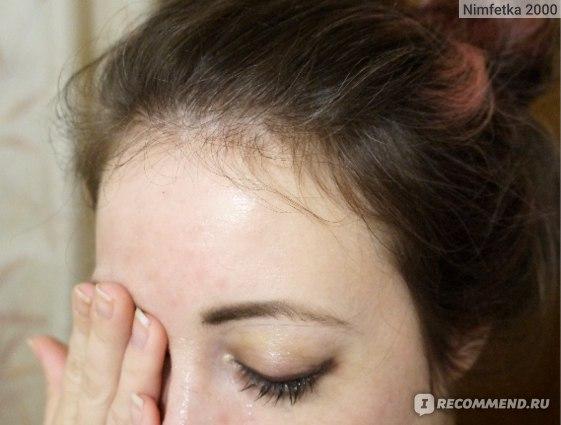 макияж глаз удаляю гидрофильным маслом
