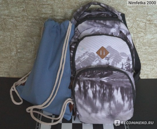 Сумка Kuling Blue Gym Bag фото