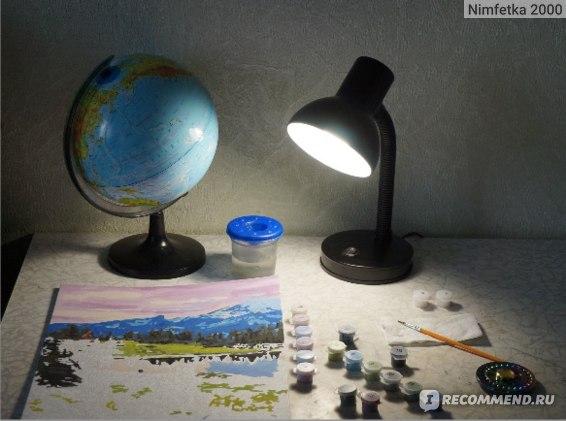 лампа включена