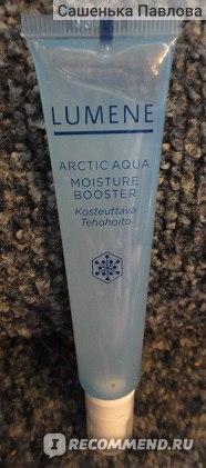 Увлажняющий эликсир Lumene Arctic Aqua с арктической родниковой водой и гиалуроновой кислотой фото