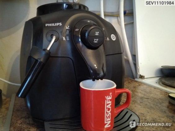 Компактный размер кофемашины