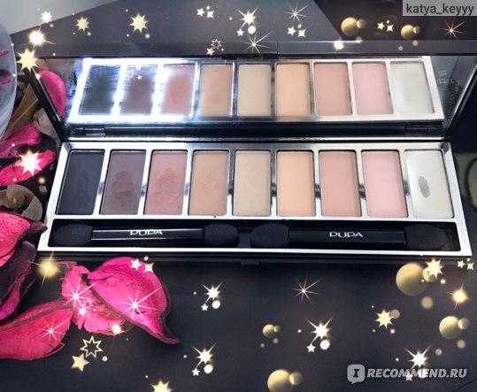 Тени для век Pupa Pupart Eyeshadow palette фото