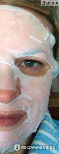 Маска для лица Via Beauty Восстановление свойств кожи Красный женьшень фото