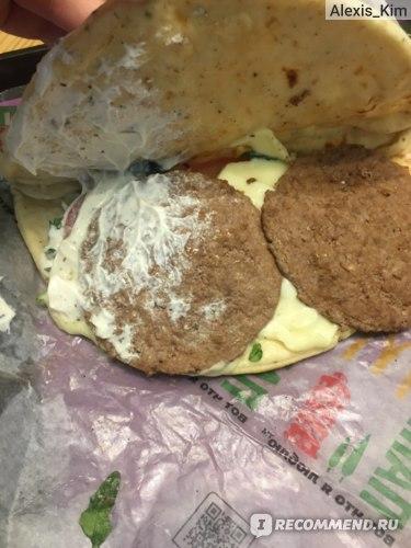 Бургер McDonald's / Макдоналдс Панини Тоскана