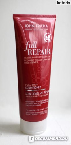 Шампунь для волос John Frieda Full repair Укрепляющий + восстанавливающий  фото