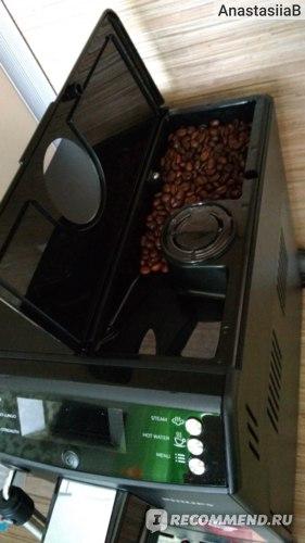 Отсек для зернового кофе