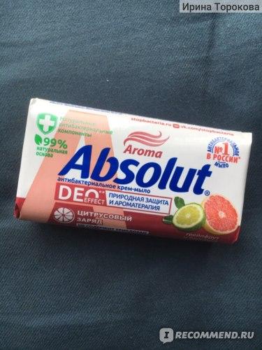 Антибактериальное мыло Весна Absolut DEO фото