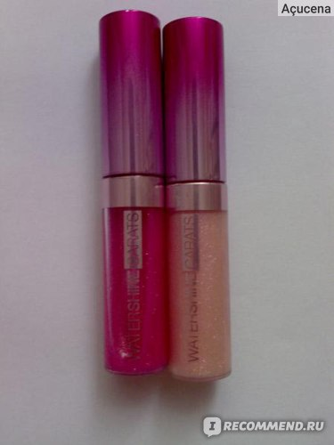 Блеск для губ MAYBELLINE  Watershine Carats фото