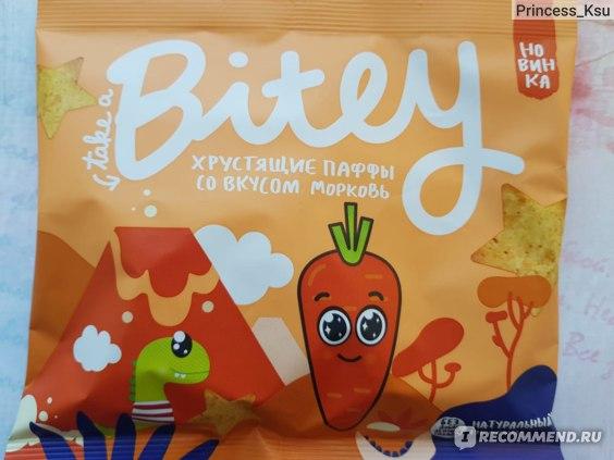 Хрустящие паффы Bitey со вкусом моркови отзыв Princess_Ksu