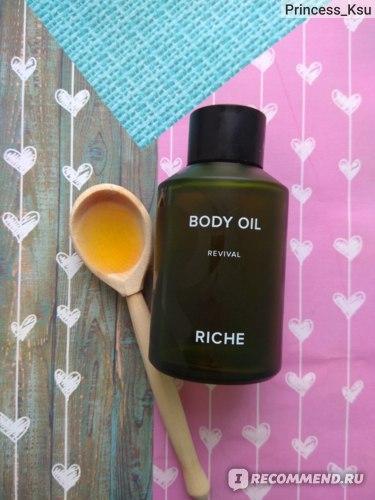 Тонизирующее масло для тела RICHE отзыв Princess_Ksu