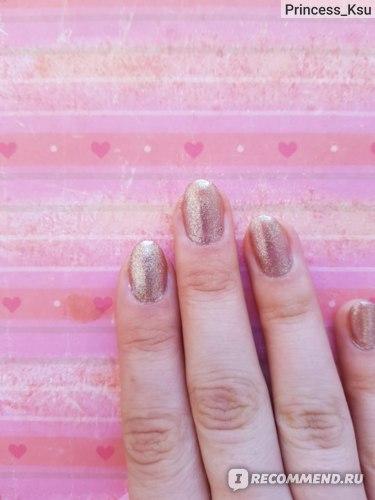 Лак для ногтей Catrice Gold effect отзыв Princess_Ksu