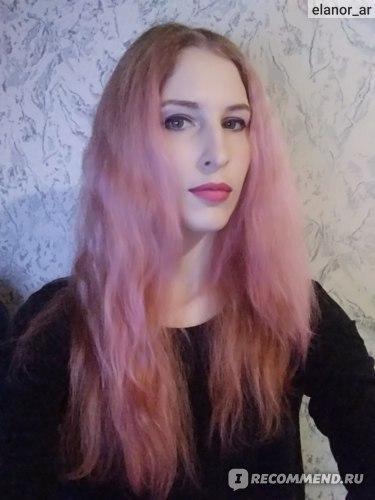 Итог на сухих волосах