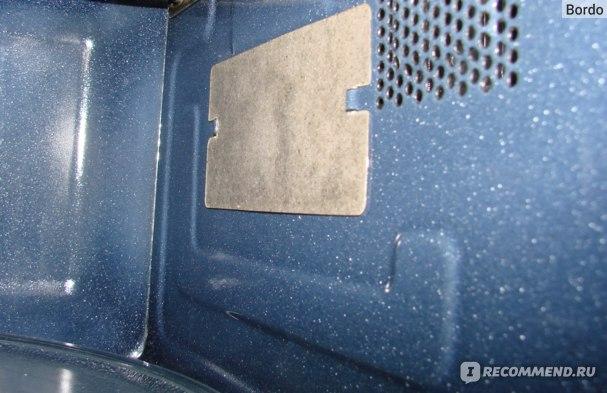 Микроволновая печь Samsung MG23K3513AK: та самая картонка