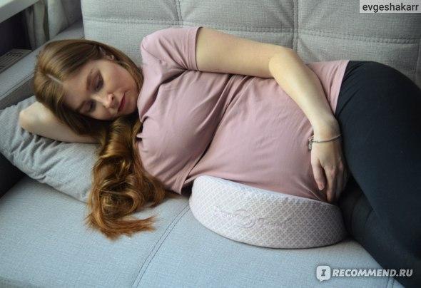 """Подушка для беременных ErgoFeed под живот """"Клин"""" фото"""
